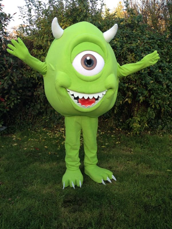 Monsters Inc Mike Wazowski Event Mascots Costume Hire